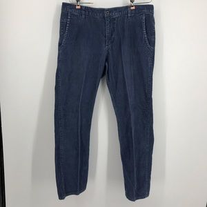 Men's Alpha Slim Blue Corduroy Dockers 36 x 29